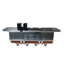 S1-4 Slide Switch Ambient Temperature 10℃~85℃ Contract Resistance <20mΩ